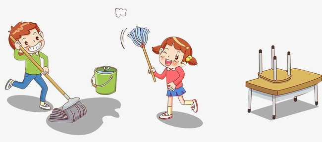 PNG Cleaning Classroom - 138531