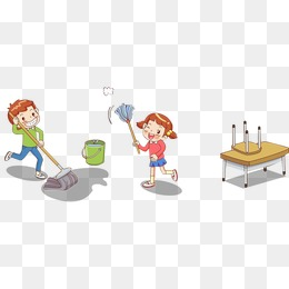 PNG Cleaning Classroom - 138533