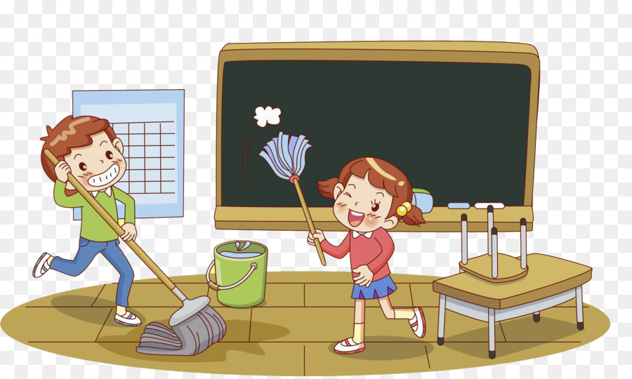 Classroom Cleaners Design ~ Png cleaning classroom transparent