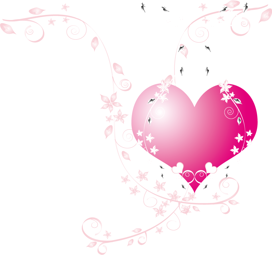 png coeur rose transparent coeur rose png images pluspng compass clipart outline compass clipart outline