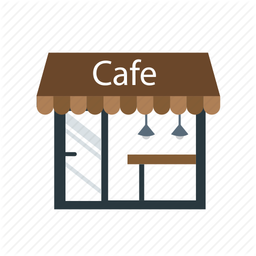 cafe, coffee shop, restaurant, shop, store icon - PNG Coffee Shop