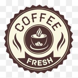 coffee shop label vector eps, Continental, Retro, Coffee Shop Label PNG and  Vector - PNG Coffee Shop