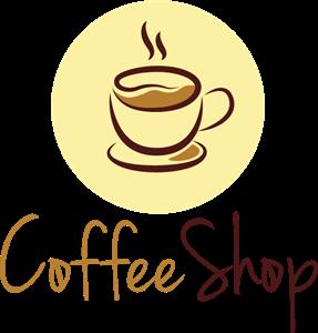 Coffee Shop Logo Vector - PNG Coffee Shop