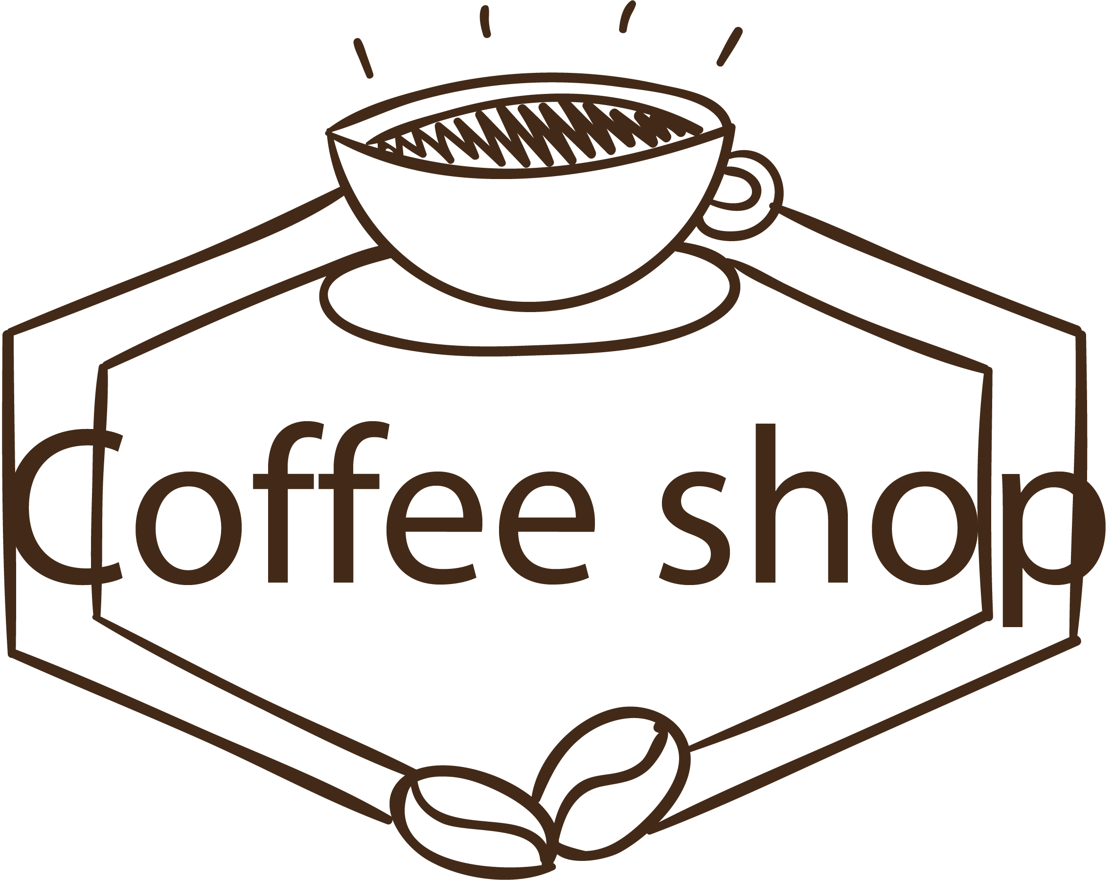 Coffee shop vector. Download PNG - PNG Coffee Shop