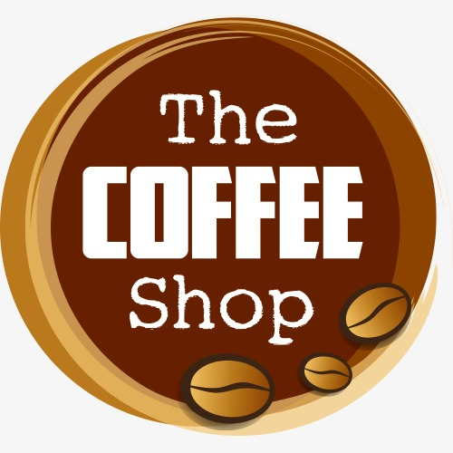 creative coffee shop logo, Exquisite Coffee Image, Coffee Label, Cafe PNG  and Vector - PNG Coffee Shop