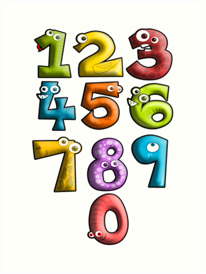 LEARN, NUMBERS, teach, Counting, Count, Cartoon, Learning to count by - PNG Counting
