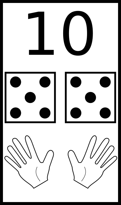 learn to count 10 - /education/classwork/counting /learn_to_count/learn_to_count_10.png.html - PNG Counting