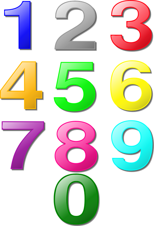 numbers counting maths mathematics learning - PNG Counting