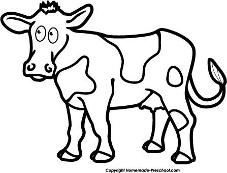 Black And White Cow Pictures | Free Download Clip Art | Free Clip regarding  Cow Clipart - PNG Cow Black And White