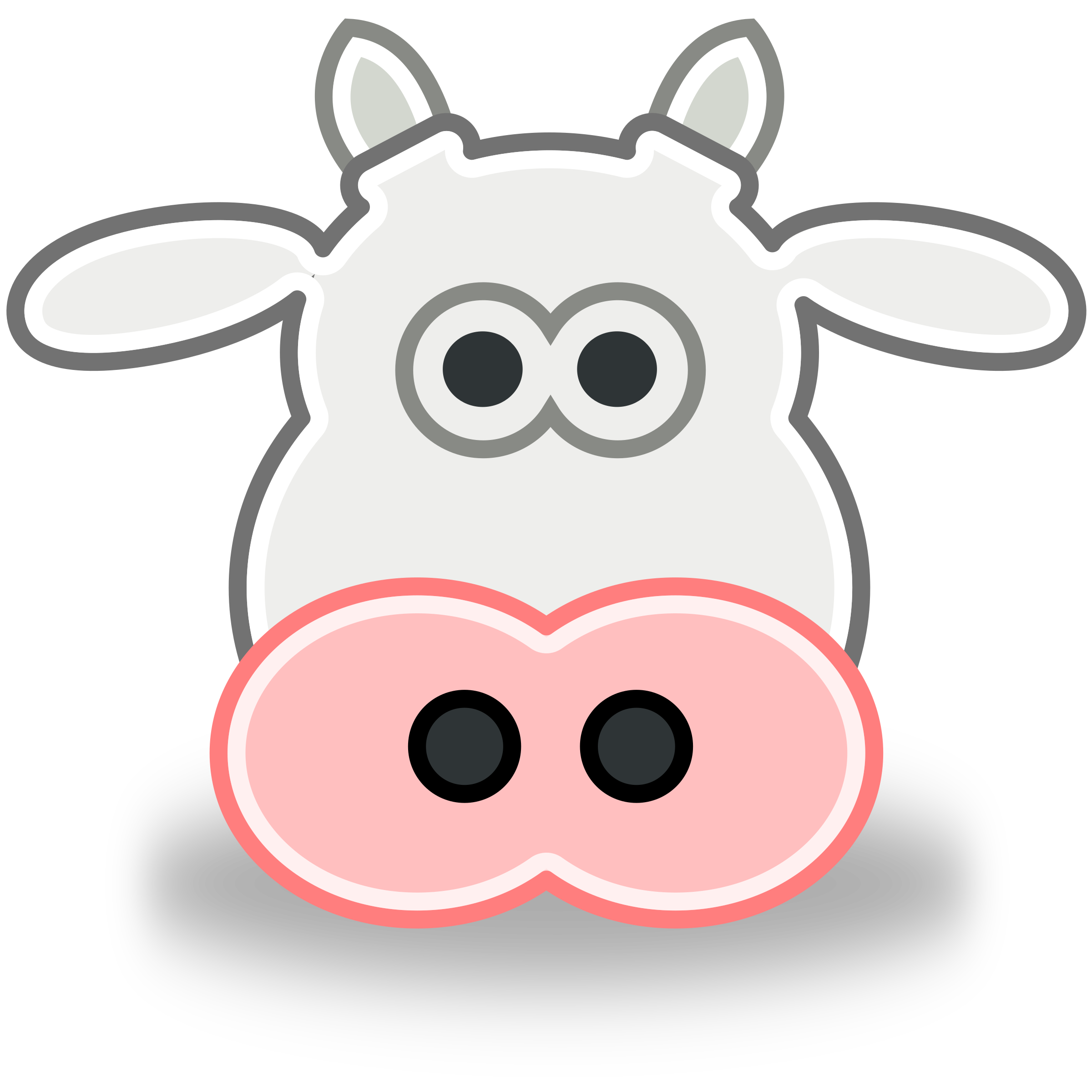 BIG IMAGE (PNG) - PNG Cow Head