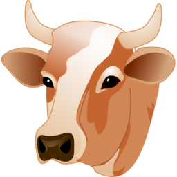 Cow head Icon - PNG Cow Head