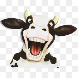 Cows, Cartoon, Cows PNG and PSD - PNG Cow Head