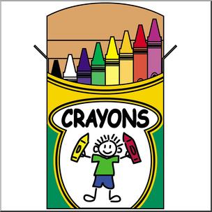 PNG Crayon Box - 133429
