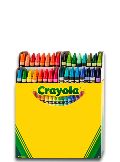 PNG Crayon Box