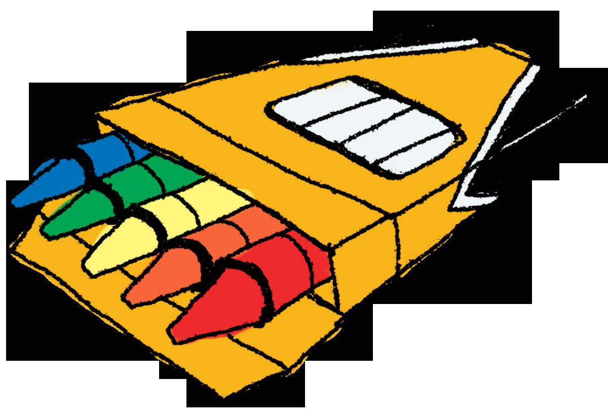 PNG Crayon Box - 133425