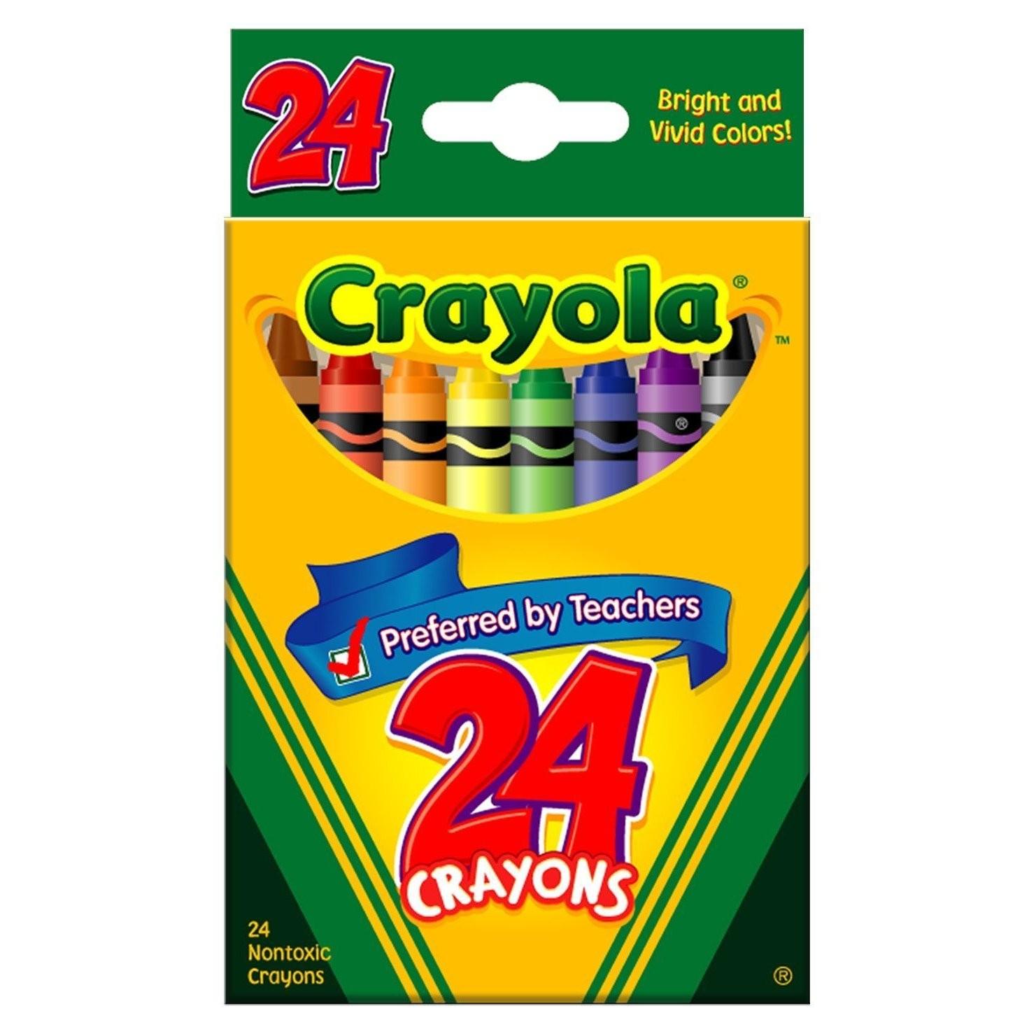 PNG Crayon Box - 133419
