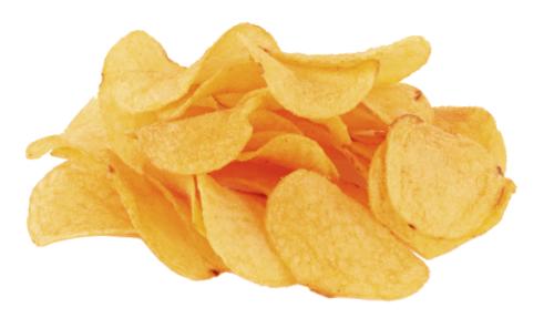 Dog Eat Potato Chips