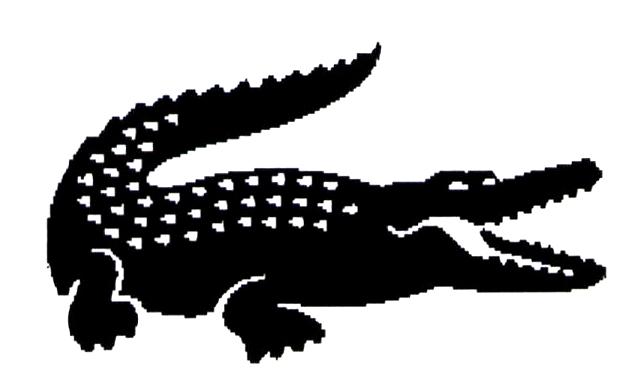 PNG Crocodile Black And White - 133439