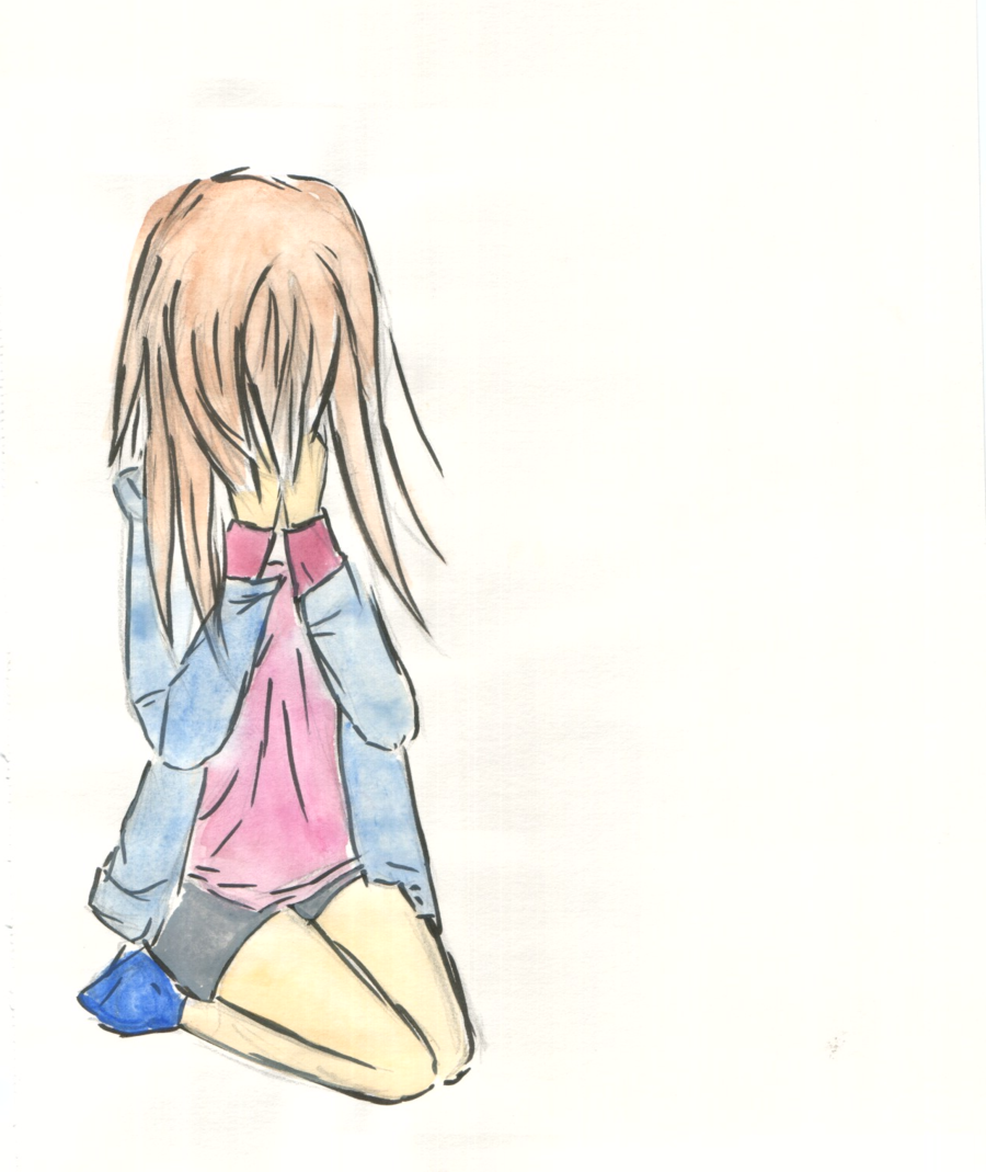 . PlusPng.com Crying girl.. PlusPng.com by fairy-chan96 - PNG Crying Girl