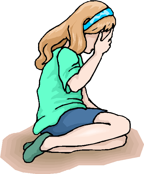 Crying girl clip art clipart 2 - PNG Crying Girl