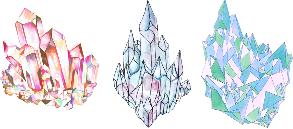 Tumblr Crystal PNG by punchchi PlusPng.com  - PNG Crystal