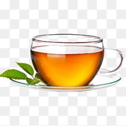 A cup of tea and mint leaves, Mint Leaf, Tea, Black Tea PNG - PNG Cup Of Tea