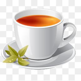 Cup of tea, Cup, Tea, Green Leaves PNG Image - PNG Cup Of Tea
