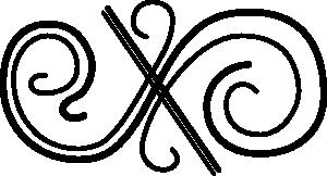 Clipart curlicues. - PNG Curlicues