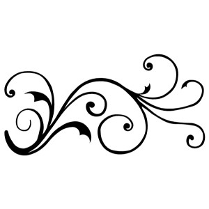 Swirl clipart curlicue #15 - PNG Curlicues