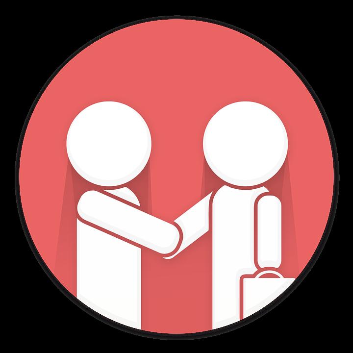 customer service customer satisfaction shaking hands - PNG Customer