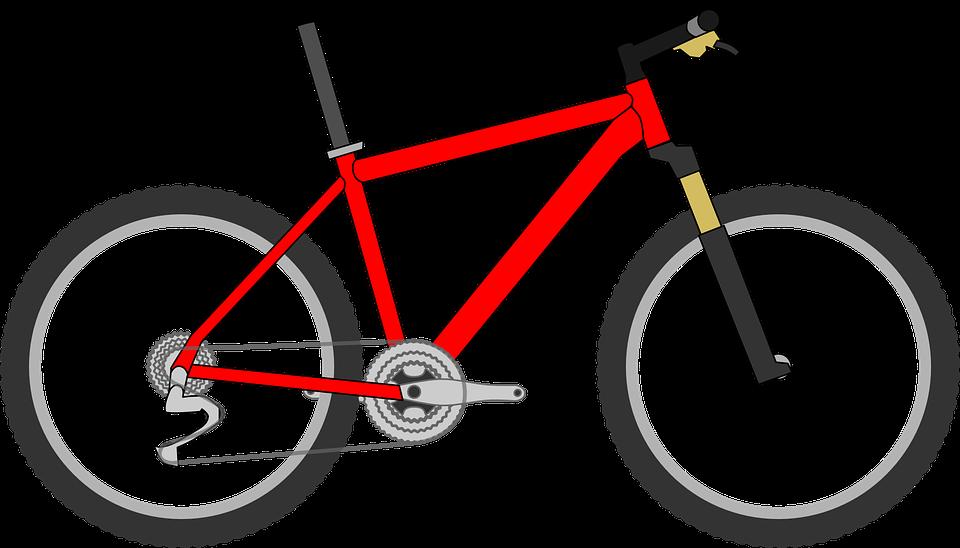 Cykel, Rød, Cyklus, Cykling, Sport, Tur, Hjul, Pedal - PNG Cykel