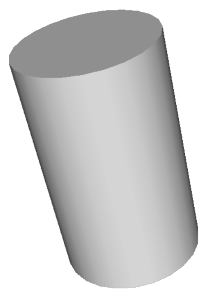 What is the area of cylinder