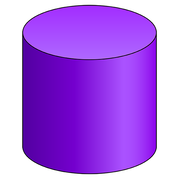 Cylinder - 3D Shape - Geometry - Nets of Solids - Activities and Worksheets  - Gynzy - PNG Cylinder 3d