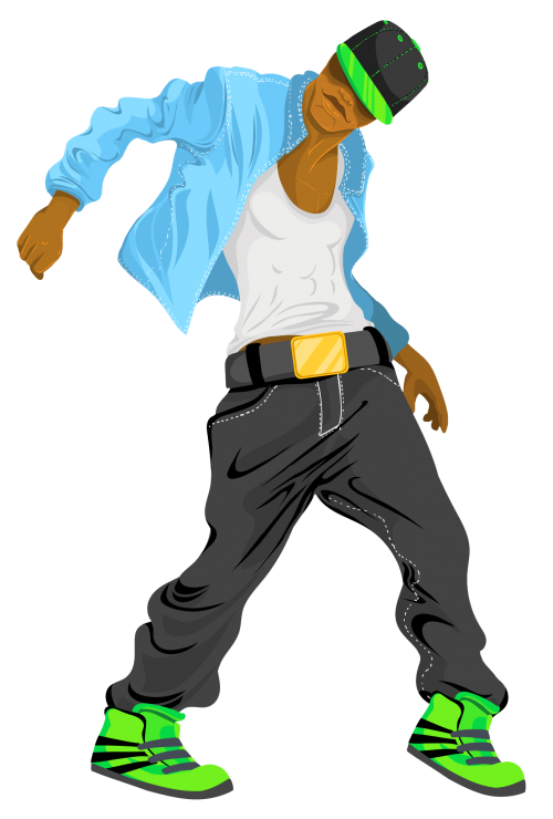 Dancing Man PNG Transparent Image