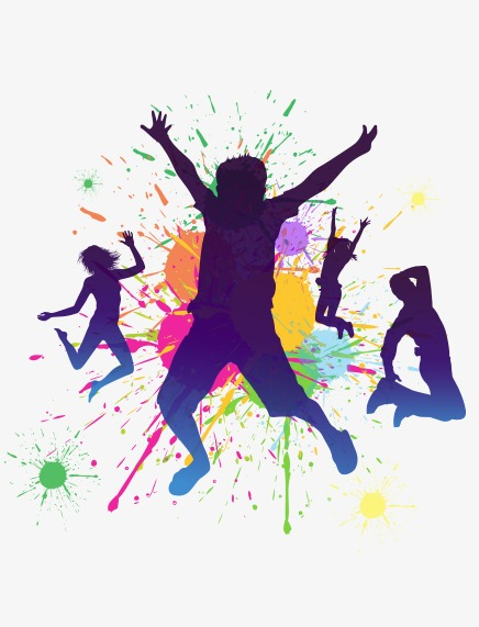 dancing people, Youth, Lively, Dancing PNG Image and Clipart