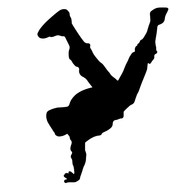 keywords hip-hop dancing silhouette dancer - PNG Dancing Pictures