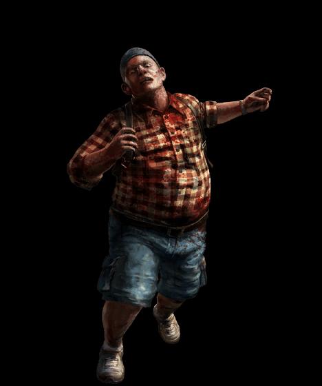 Dead Island Running Man - PNG Dead Person