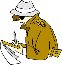 PNG Detective Cartoon - 153022