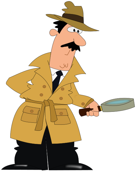 detective - PNG Detective Cartoon