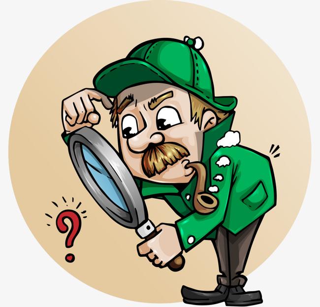PNG Detective Cartoon - 153023
