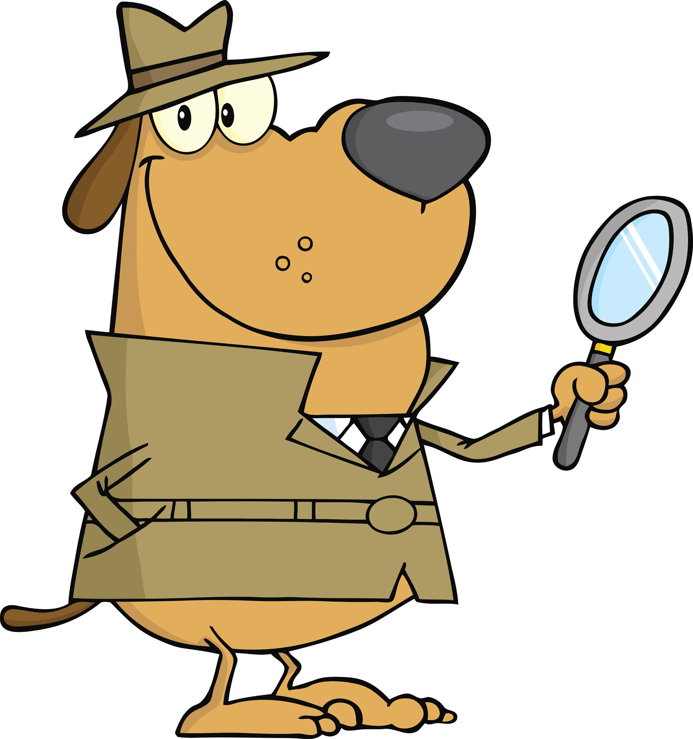 Detective clipart animation free clipart images - PNG Detective Cartoon
