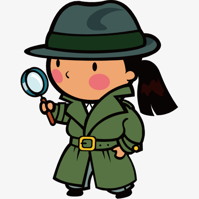 png detective cartoon transparent detective cartoon png images