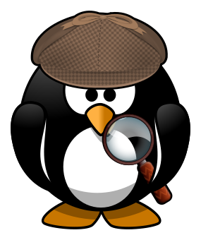 detective penguin - PNG Detective Cartoon