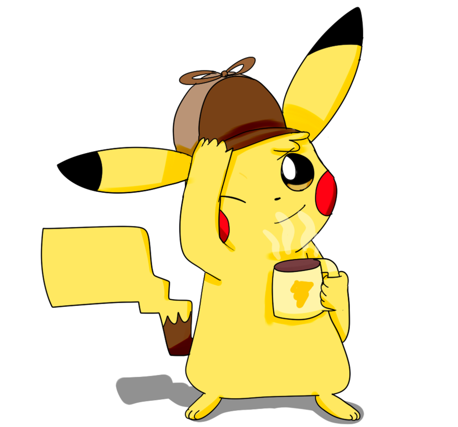 Detective Pikachu by sp19047 PlusPng.com  - PNG Detective Cartoon