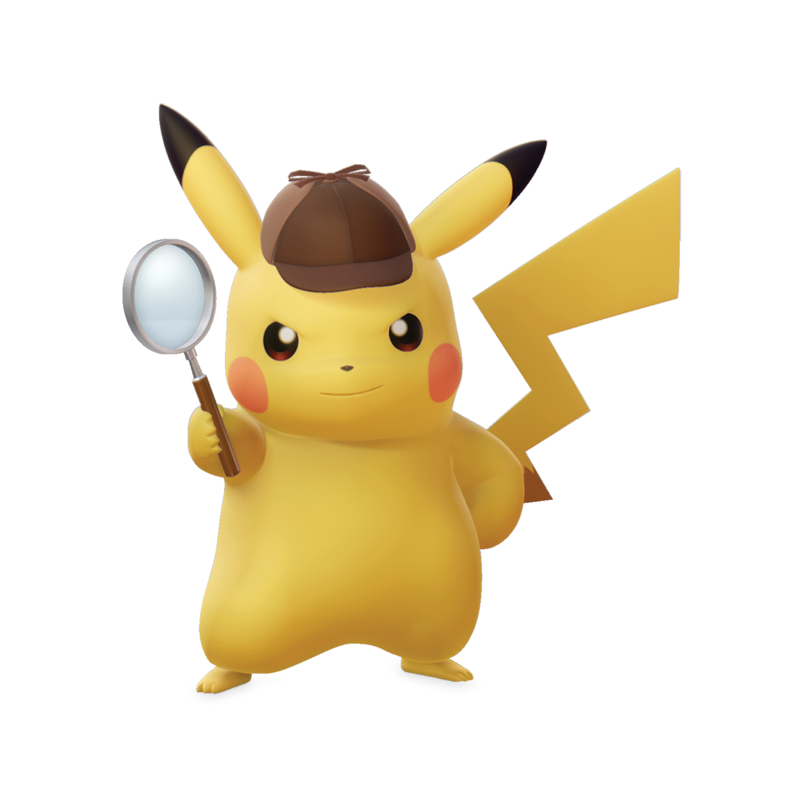 Detective Pikachu - Character artwork 01.png - PNG Detective Cartoon