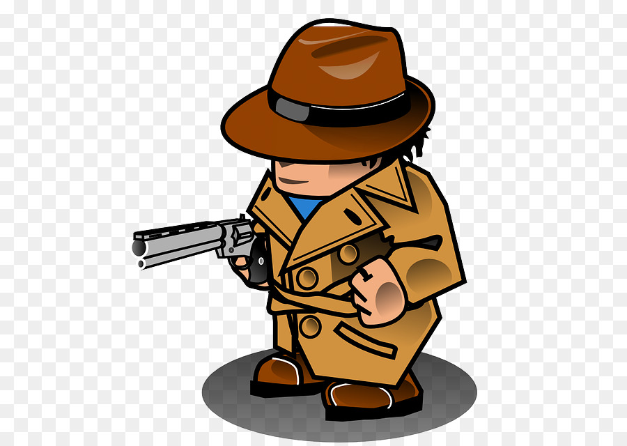 Jokes: Clean Jokes Humour Detective Chicken jokes - magnifying - PNG Detective Cartoon