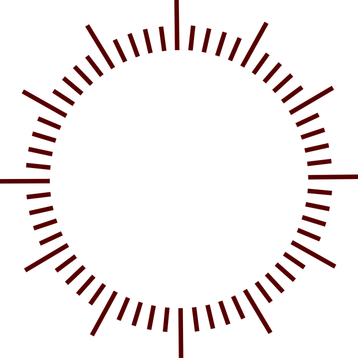 Dial, Clock, Minutes, Marks, Design, Seconds - PNG Dial