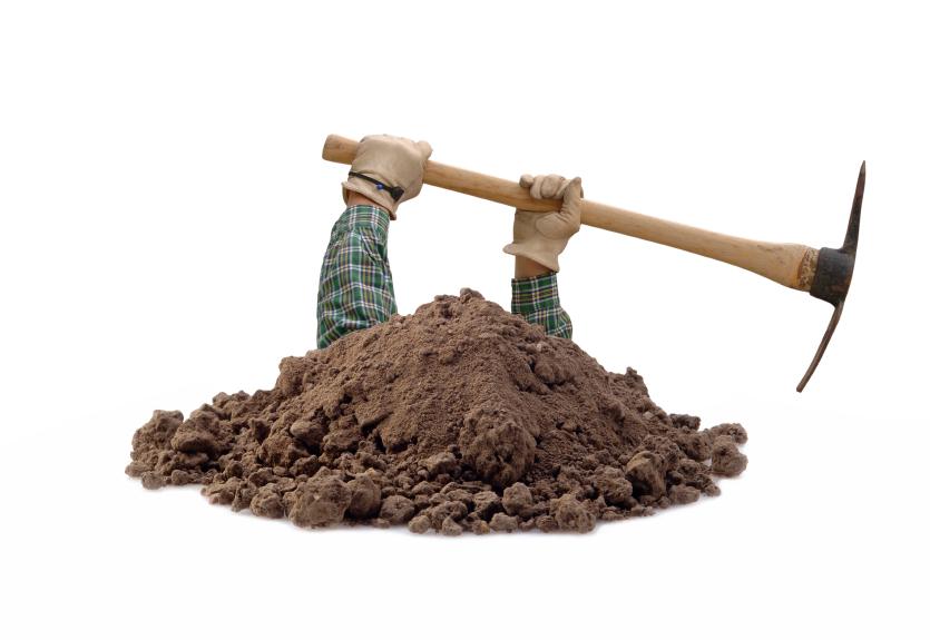 digging - PNG Dig