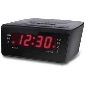 Coby Digital Alarm Clock with