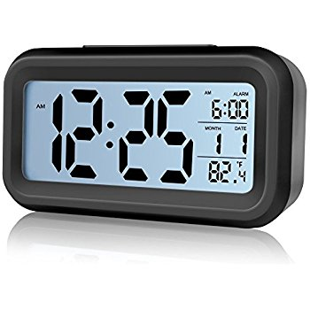 Digital Alarm Clock,ZUOXI Eas
